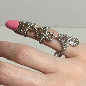 Finger nail ring Size 5-6 NWT
